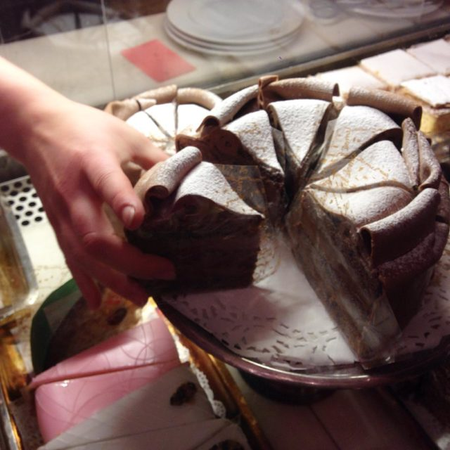 Fantastic house cake at the famous konditorei Demel demelwien inhellip