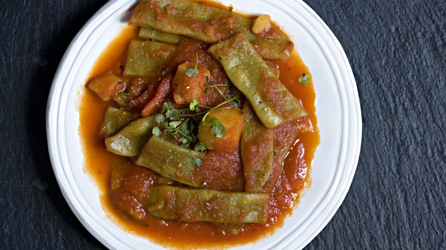 recept za varivo od mahuna, krumpira i rajčica