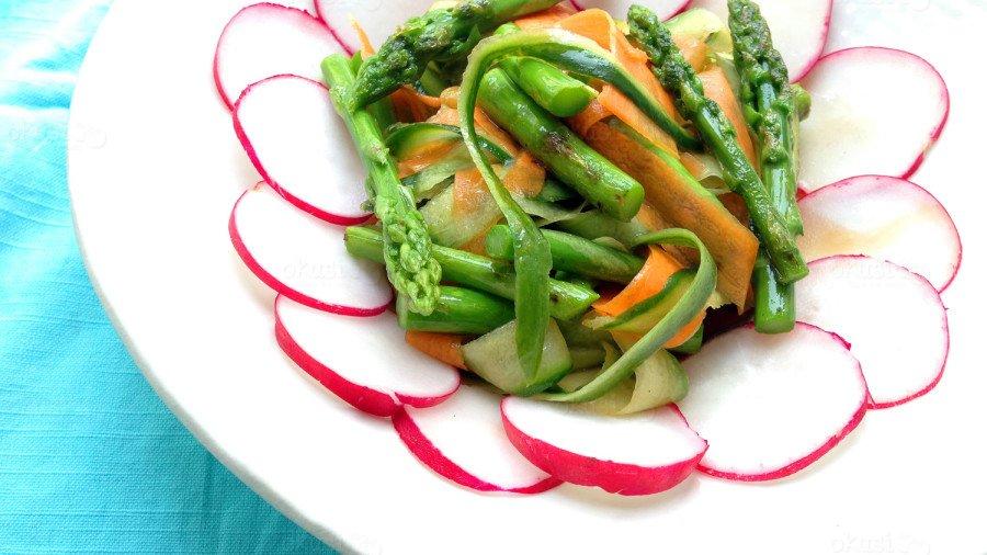 recept za salatu od šparoga