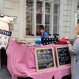 Tržnica Markterei u Beču Vienna Wien