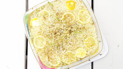 recept za sok i sirup od bazge