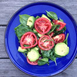 recept za salatu s avokadom