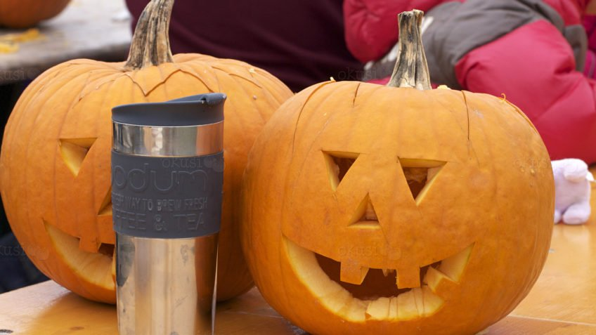 tekst rezbarenje bundeve za Halloween
