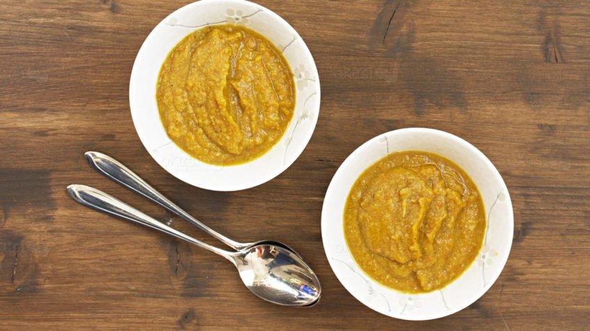 recept za juhu od bundeve i gljiva