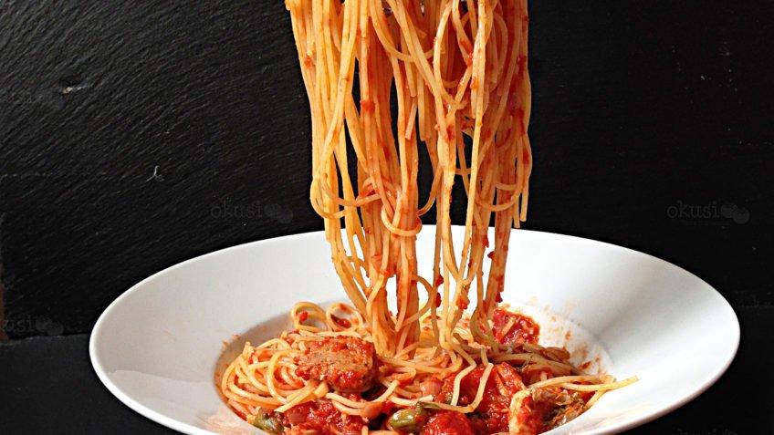 recept za špagete s tunom