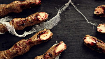 recept za raw food Halloween