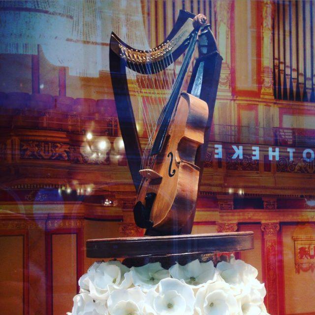 Fantastic demelwien Konditorei Demel Vienna shop window celebrating 150 yearshellip