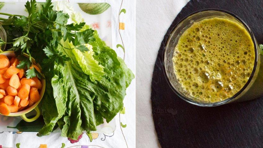 recept za zeleni sok