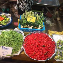 reportaža Maeklong Kolodvorska tržnica u Tajlandu