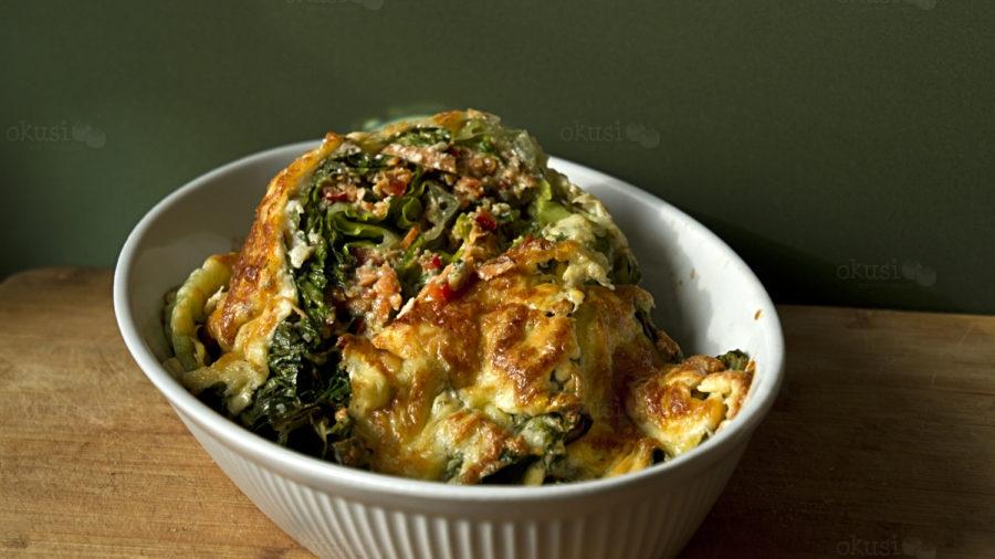 recept za LCHF punjenu salatu