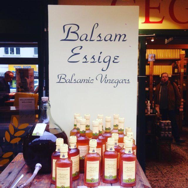 How about some vinegar? A Gegenbauer vinegar stall at Viennashellip
