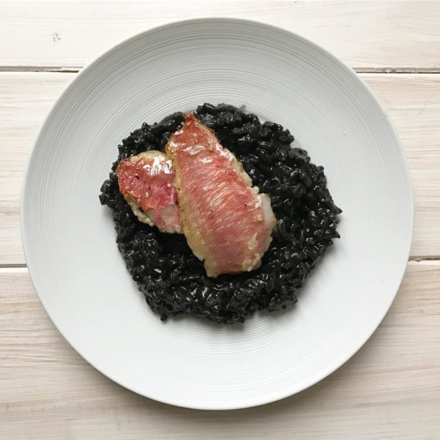 When in Venice try the local specialty black risotto hellip