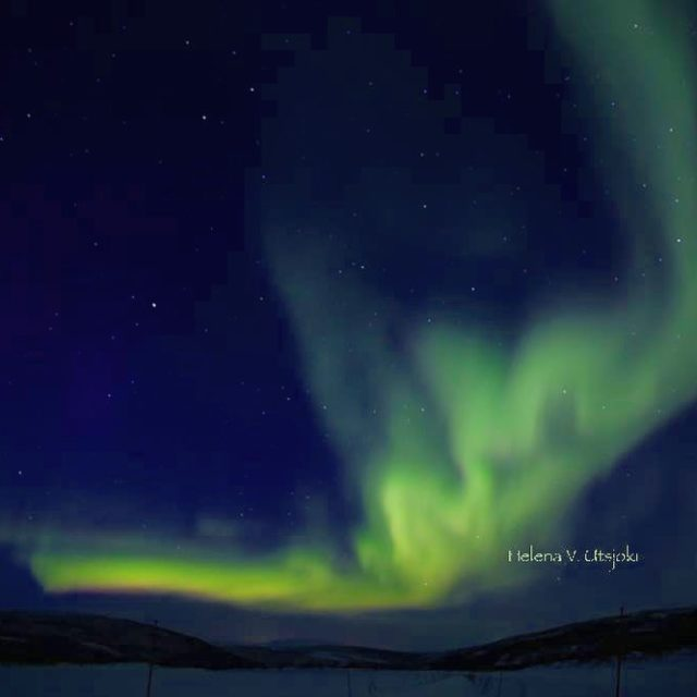 Earlier this year we went Northern Lights hunting in Utsjokihellip