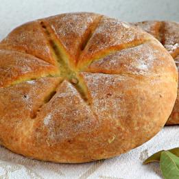 recept za kruh pogaču iz starog Rima