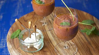 recept za hladnu španjolsku juhu Gazpacho