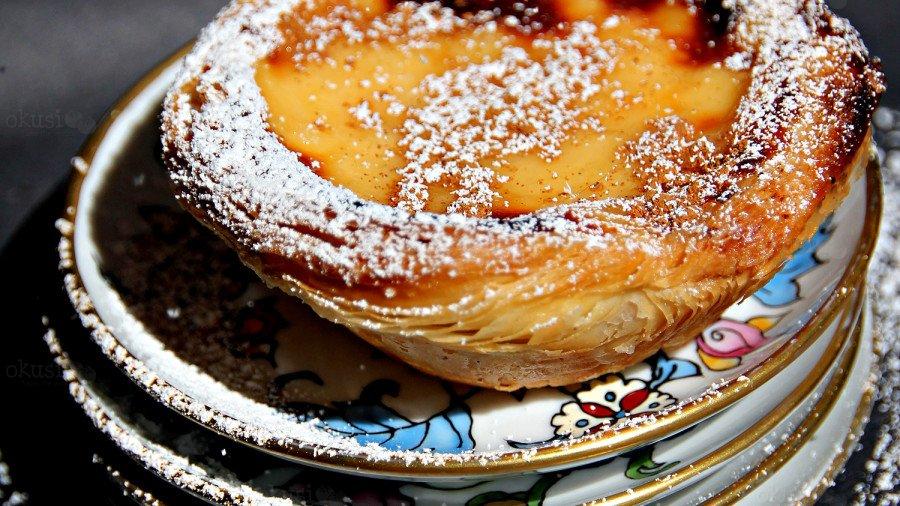recept za portugalski Pastel de Nata
