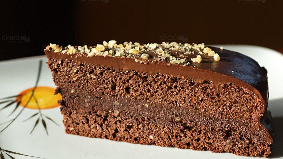 LCHF čokoladna torta