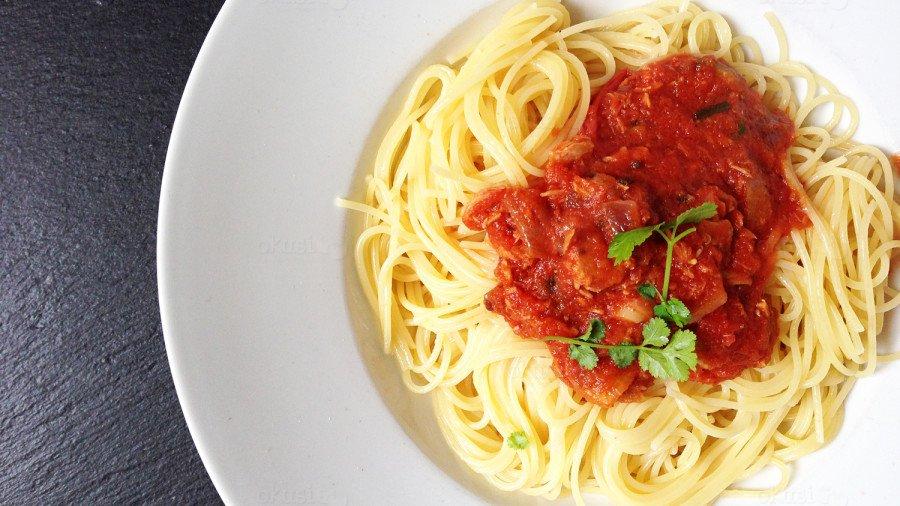 recept za odlične špagete s umakom od rajčica