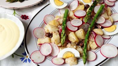 recept za salatu od krumpira sa šparogama