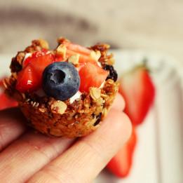 recept za kosarice s granolom