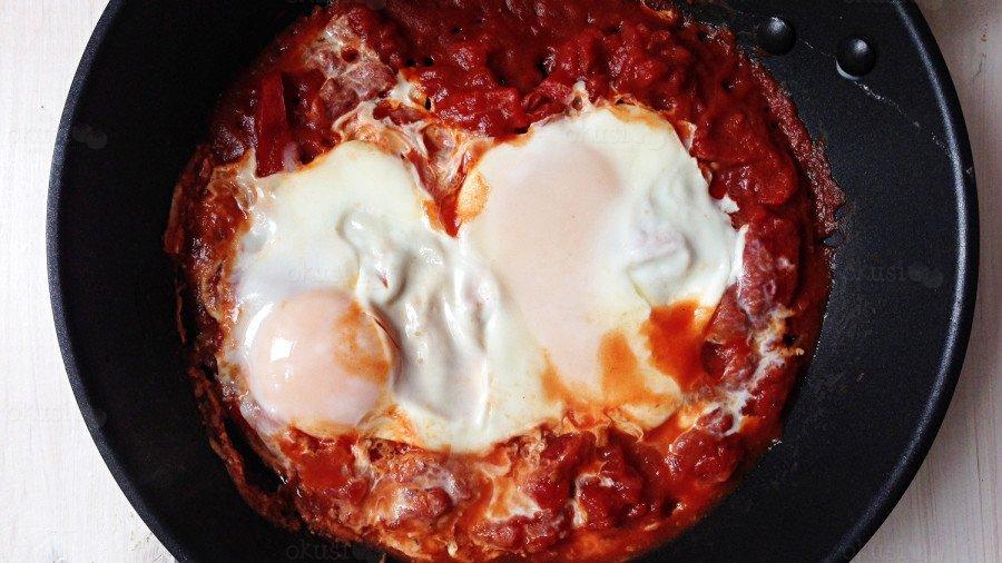 recept za shakshuka doručak