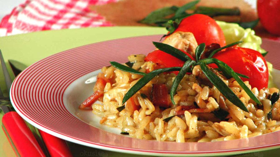 Recept za rižoto s matarom (motarom)