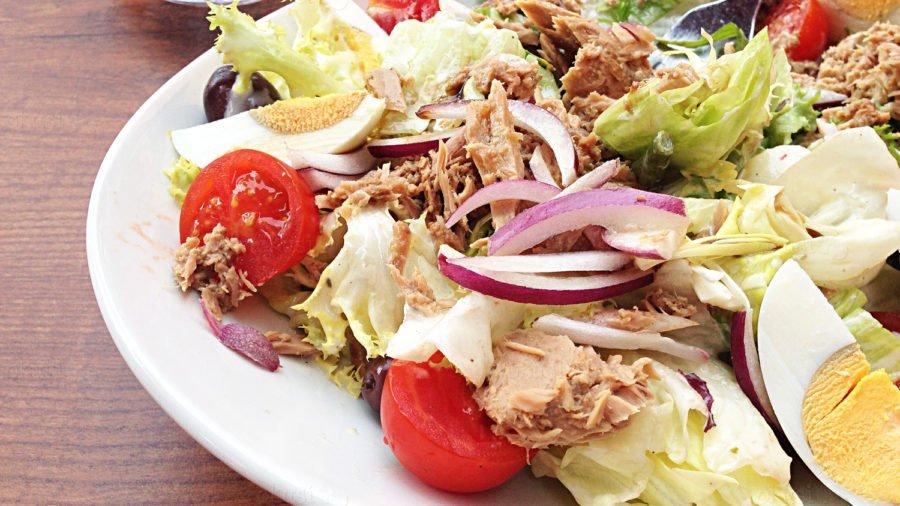 recept za salatu iz Nizze, Francuska