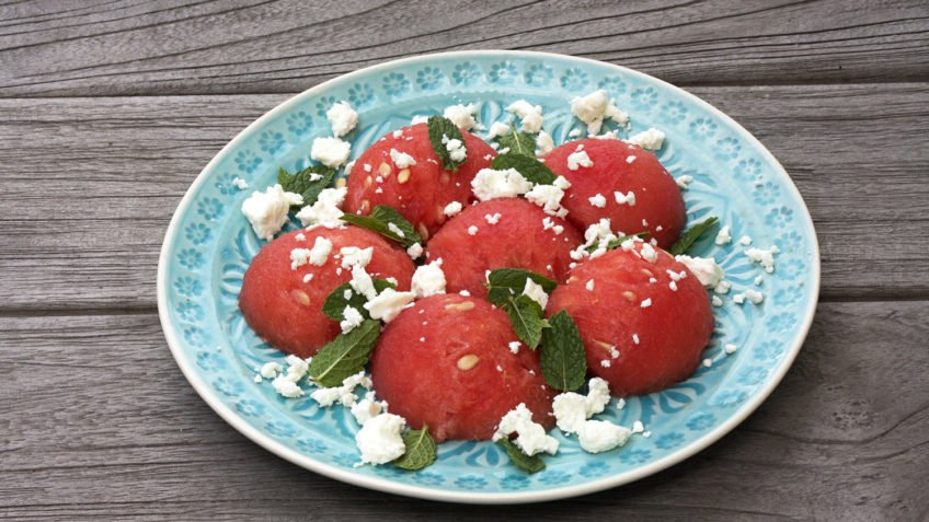 recept za lubenicu s feta sirom i metvicom