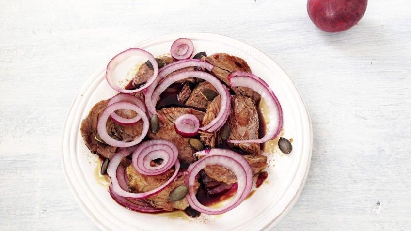 recept za meso s bučinim uljem