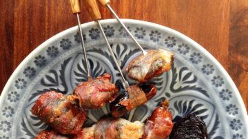 recept španjolski za datulje ili šljive u slanini