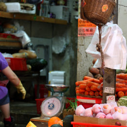 putovanje tržnica u Hong Kong