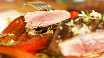 recept za biftek s paprikom LCHF