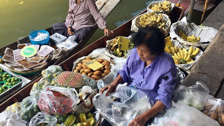 Reportaža plutajuća tržnica u Tajlandu