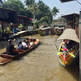 Tajland plutajuca tržnica Damnoen Saduak