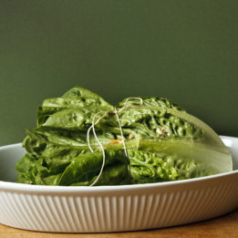 recpet za LCHF punjenu salatu