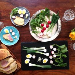 recept za šunku u kruhu za Uskrs