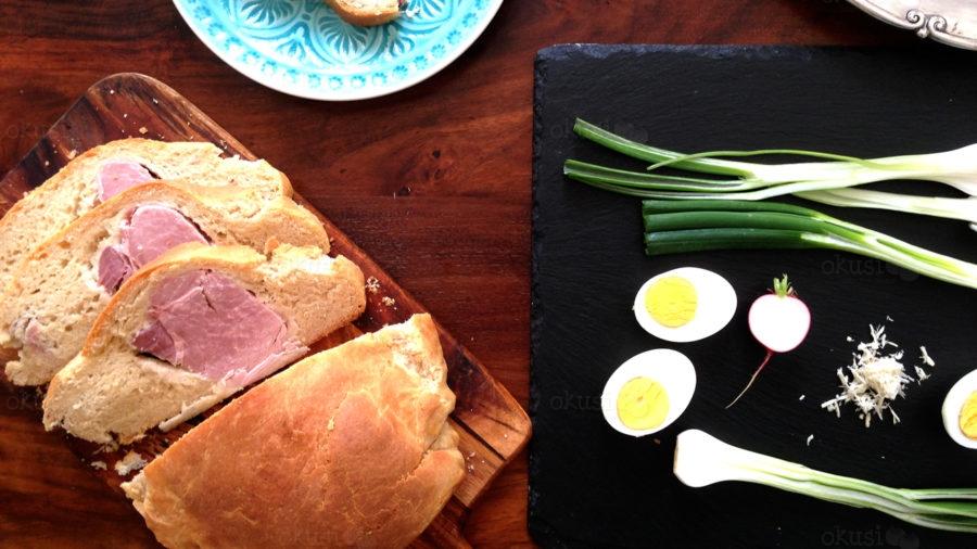 recept za šunku u kruhu
