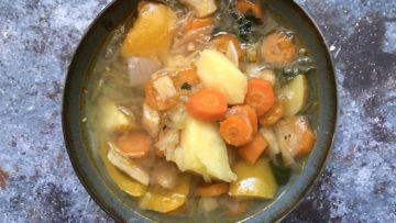 recept za minestrone juhu