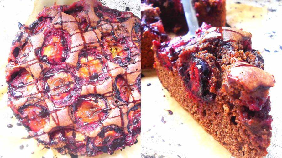 recept za čokoladnu pitu sa šljivama