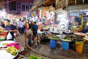 putovanje u Iran tržnica Sanandaj