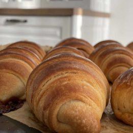 Recept za kroasane (croissants) bez lisnatog tijesta