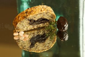 recept za francuski kruh s maslinama na LCHF način bez jaja