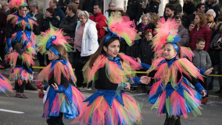 Dječji karneval na korzu u Opatiji