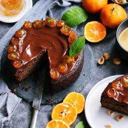 recept za tortu bez brašna od domaćih klementina