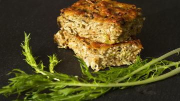 recept za bogatu mesnu pitu na LCHF način