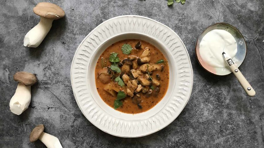 recept za gulaš od gljiva s krumpirima
