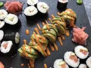 recept za maki sushi roll i nigiri