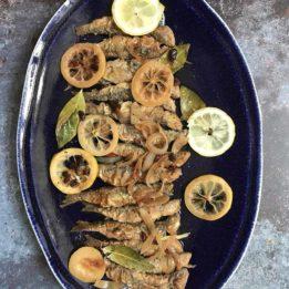 recept za sardele srdele marinirane na dalmatinski način