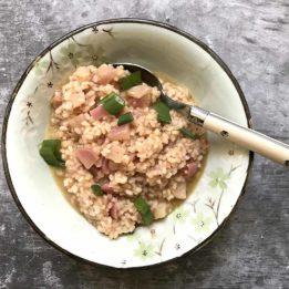 recept za rižoto od šparoga i rotkvica