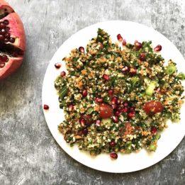 recept za mediteransku salatu od peršina i bulgura taboulleh